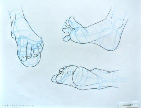 Sheridan_Animation_Portfolio_Ruby_Xia_life_Personal_Piece_Foot_Studies