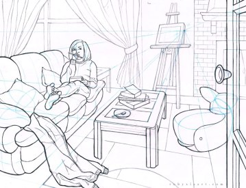 Sheridan_Animation_Portfolio_Ruby_Xia_Room_Drawing_1